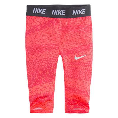 Nike Jersey Capri Leggings - Toddler Girls