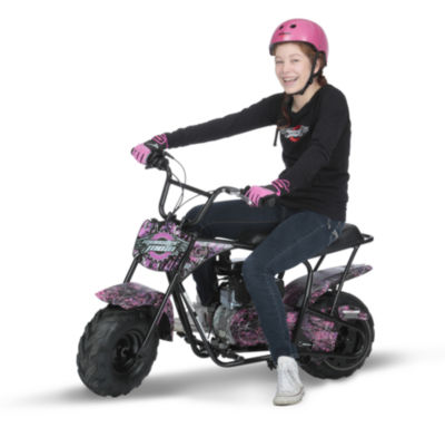 Monster Moto Muddy Girl Mini Bike