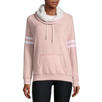 Flirtitude Long Sleeve Plush Sweatshirt - Juniors