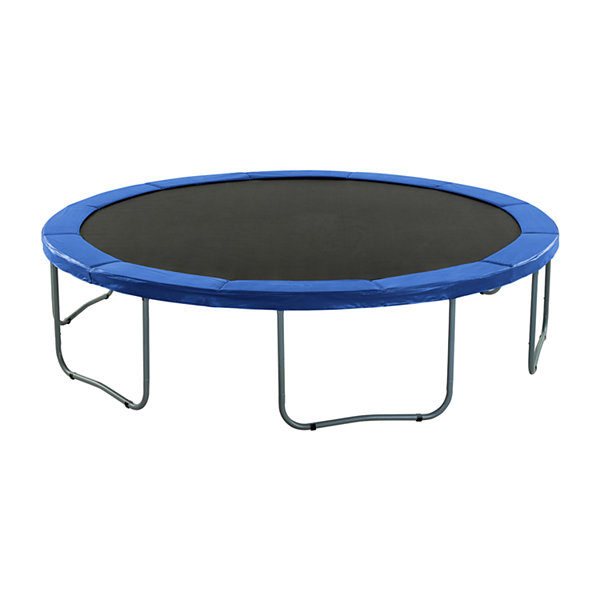 Upper Bounce Super Trampoline Replacement Safety Pad (Spring Cover) Fits for 10 FT. Round Frames  - Blue