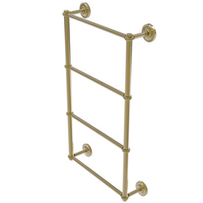 Allied Brass Prestige Regal Collection 4 Tier 24 Inch Ladder Towel Bar with Twisted Detail