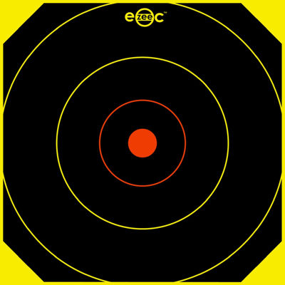 """E-Zee-C 10"""" Round Target-100 Targets"""""""