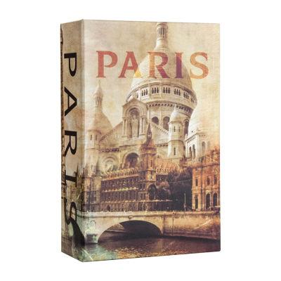 Barska Paris Book Lock Box with Combination Lock
