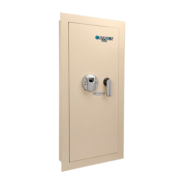 Large Biometric Wall Safe Left Opening