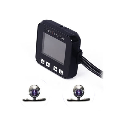 "Sykik Motorcycle Action Camera with 2"" PIP Monitor"
