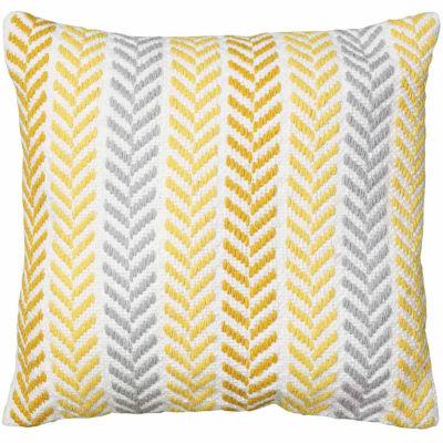 Altair Herringbone Chevron Pillow