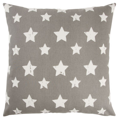 Andrew Charles By Rizzy Home Alexander Star Pattern Filled Pillow