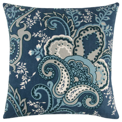 Andrew Charles By Rizzy Home Greyson Floral Pattern Filled Pillow