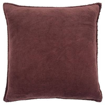 Rizzy Home David Solid Pattern Filled Pillow