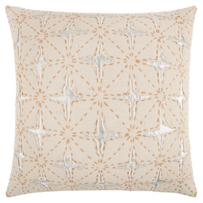 Rizzy Home Emmanuel Star Pattern Filled Pillow