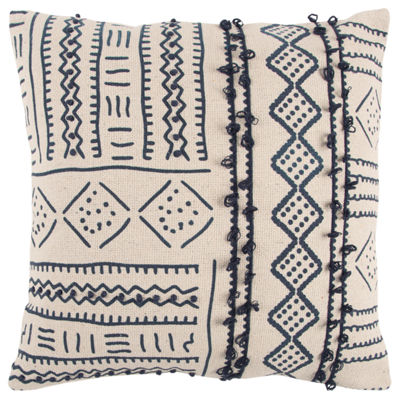 Rizzy Home Eric Various Pattern Filled Pillow