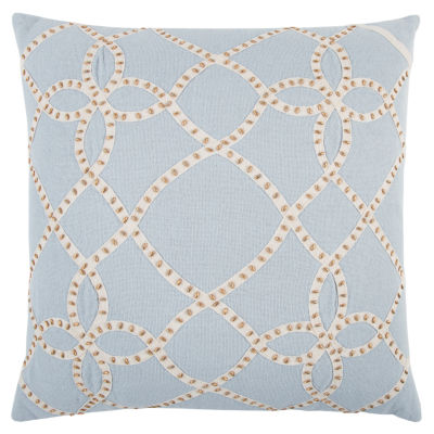 Rizzy Home Ezekiel Abstract Pattern Filled Pillow