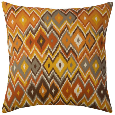 Rizzy Home Grant Diamond Pattern Indoor Outdoor Filled Pillow