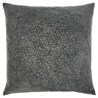 Rizzy Home Hayden Medallions Pattern Filled Pillow
