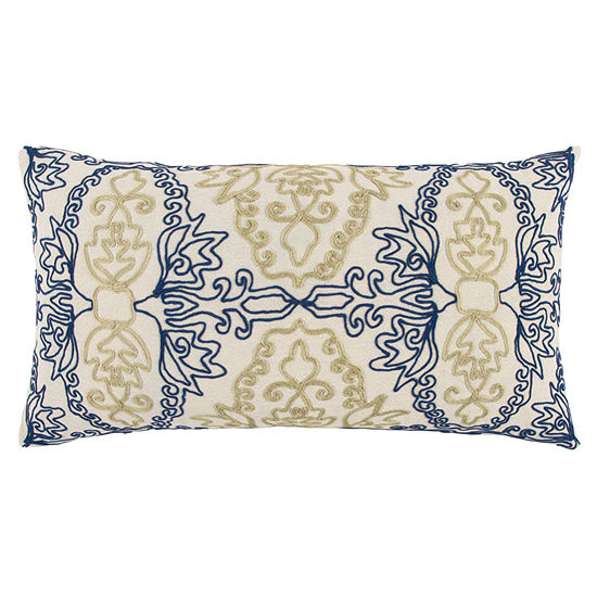 Rizzy Home Jayce Medallions Pattern Filled Pillow