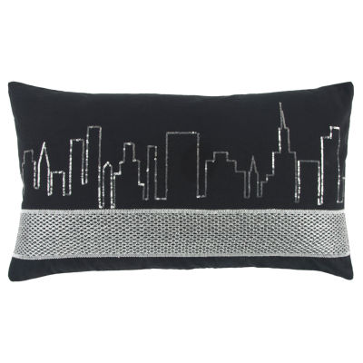 Rizzy Home Decorative Pillows Lumbar Pillow