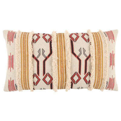 Rizzy Home Miguel Various Pattern Filled Pillow