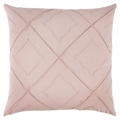Rizzy Home Oliver Diamond Pattern Filled Pillow