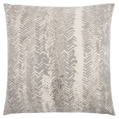 Rizzy Home Richard Stripe Pattern Filled Pillow