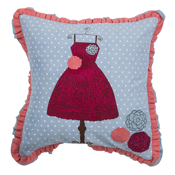 Rizzy Home Robert Novelty Pattern Filled Pillow