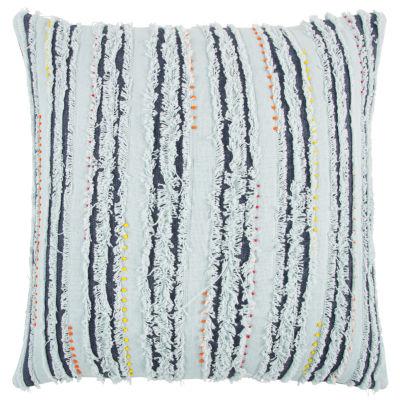Rizzy Home Ryker Stripe Pattern Filled Pillow