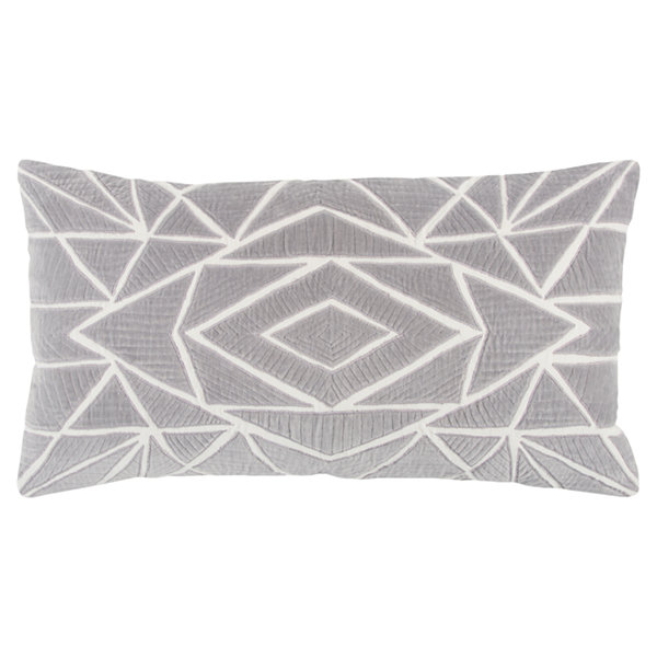 Rizzy Home Silas Geometric Pattern Filled Pillow