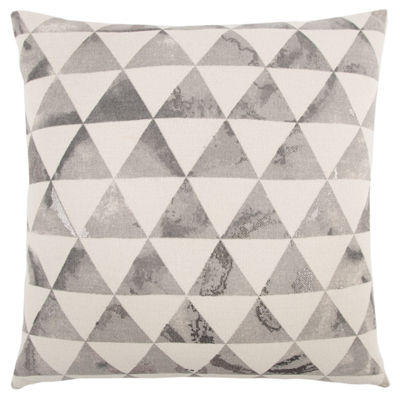 Rizzy Home Steven Diamond Pattern Filled Pillow