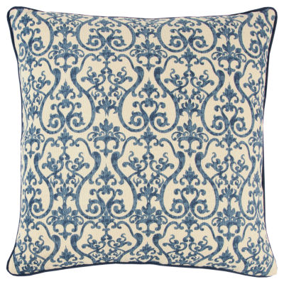 Andrew Charles By Rizzy Home Braxton Scroll Pattern Filled Pillow