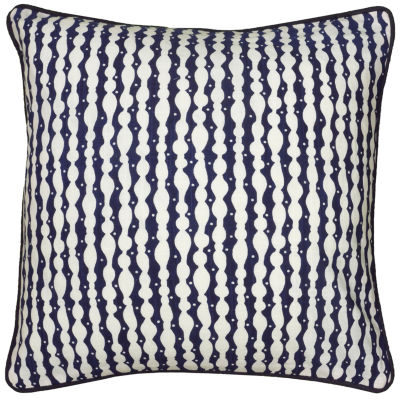 Laura Fair By Rizzy Home Ayden Stripe Pattern Filled Pillow