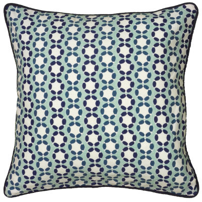 Laura Fair By Rizzy Home Carson Circles Pattern Filled Pillow