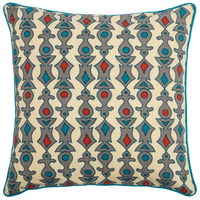 Laura Fair By Rizzy Home Brody Stripe Pattern Filled Pillow