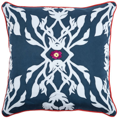 Laura Fair By Rizzy Home Nathaniel Abstract Pattern Filled Pillow