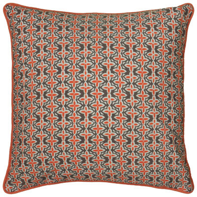 Laura Fair By Rizzy Home Zachary Pattern Pattern Filled Pillow