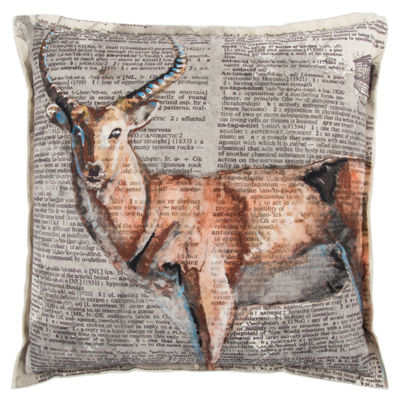 Mariah Parris By Rizzy Home Marcus Animal Pattern Filled Pillow