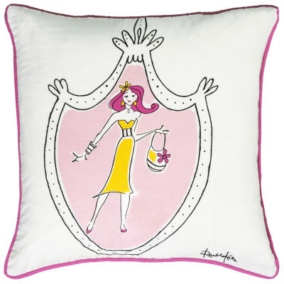 Rachel Kate By Rizzy Home Chistian Novelty Pattern Filled Pillow