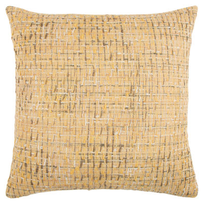 Rizzy Home Aden Grid Pattern Filled Pillow