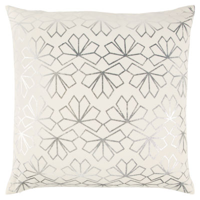 Rizzy Home Anthony Geometric Pattern Filled Pillow