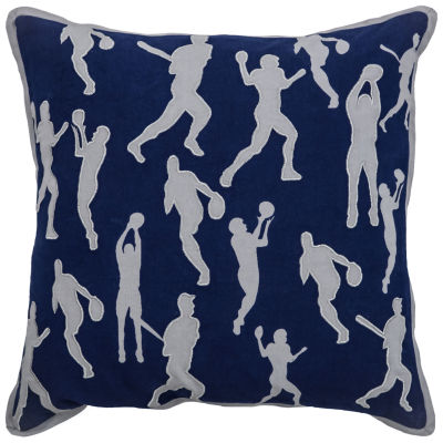 Rizzy Home Adam Novelty Pattern Filled Pillow