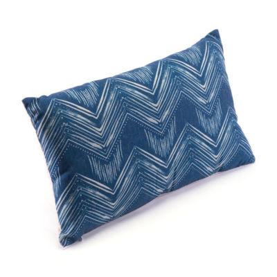 Ikat III Throw Pillow