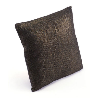 Metallic Threads Throw Pillow