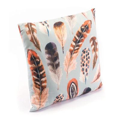 Plumas One Throw Pillow