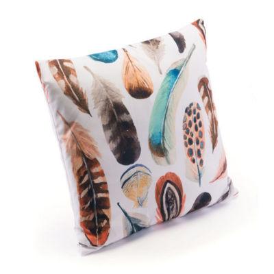 Plumas Two Throw Pillow