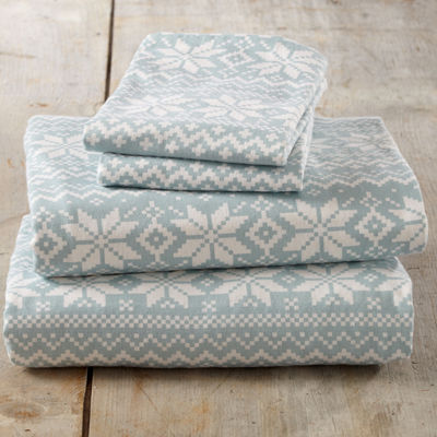 Aspen Flannel Sheet Set