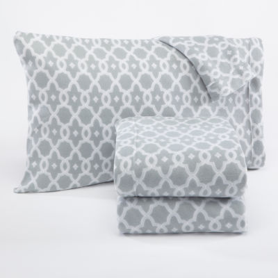 Dara Fleece Sheet Set