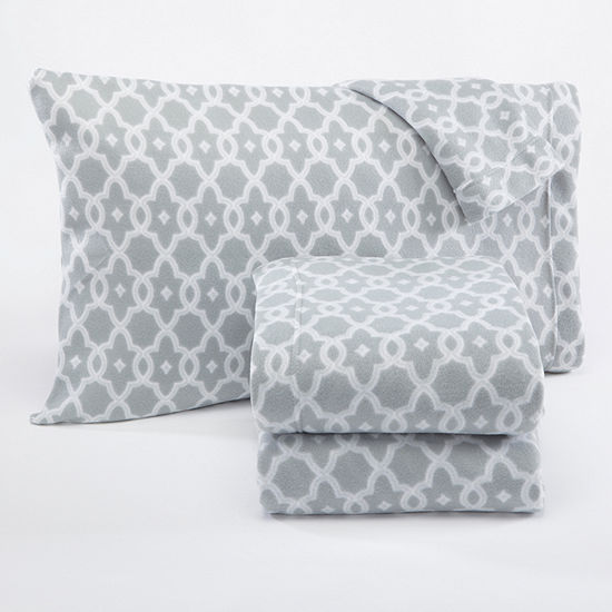 Dara Fleece Sheet Set