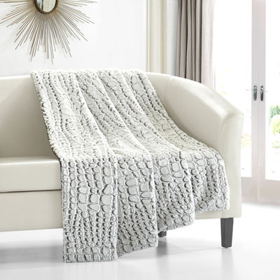 Crocodile Throw Blanket
