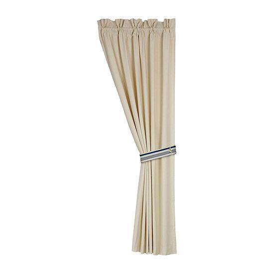 Natural Canvas Curtain, pair, 48X84