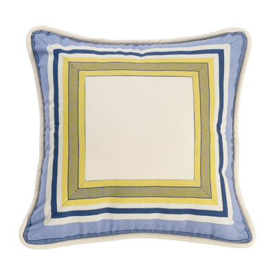 HiEnd Accents Beaufort Striped Square Throw Pillow