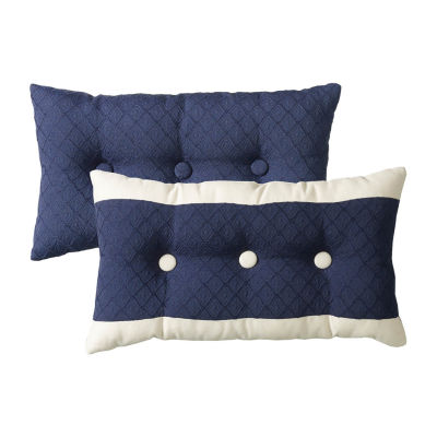 HiEnd Accents Beaufort Oblong Throw Pillow