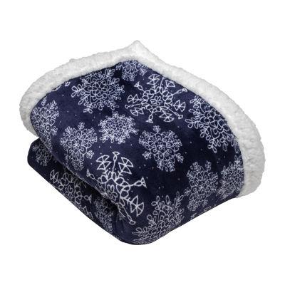 Iclyn Sherpa Throw Blanket